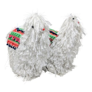 Decorative Llamas - a Pair For Sale