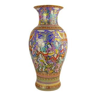 Hand Painted Benjarong Vase