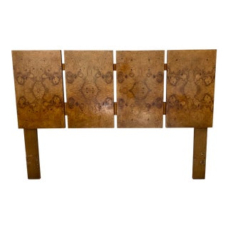 Vintage Lane Burl Queen Headboard For Sale