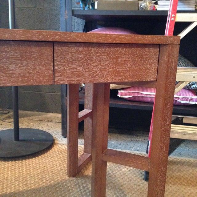 Bungalow 5 Desk in Cerused Oak - Image 3 of 4