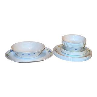 "Corelle ""Secret Garden"" Dishware - 22 Pieces For Sale"