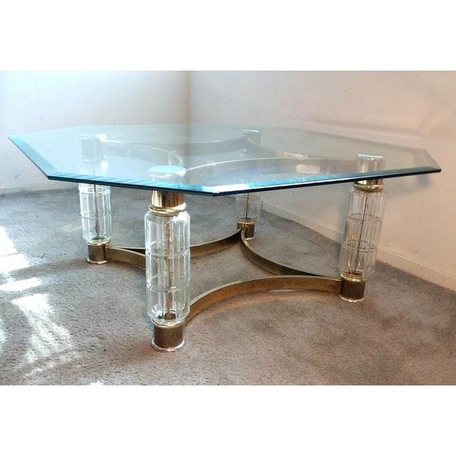 Art Nouveau Glass Coffee Table For Sale - Image 10 of 10