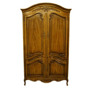 Thomasville Furniture Camille Collection Country French Armoire For Sale