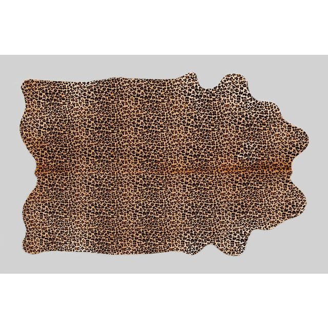 Contemporary Leopard Genuine Brazilian Cowhide For Sale - Image 3 of 3