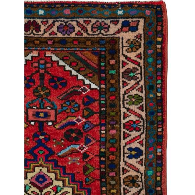 "Islamic Vintage Persian Hamadan Rug – Size: 2' 3"" X 3' 10"" For Sale - Image 3 of 4"