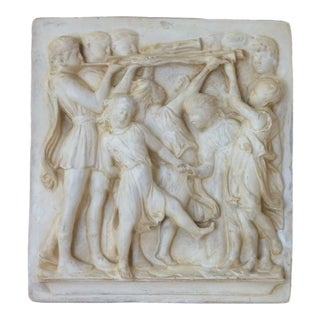 Della Robia Plaster Frieze For Sale