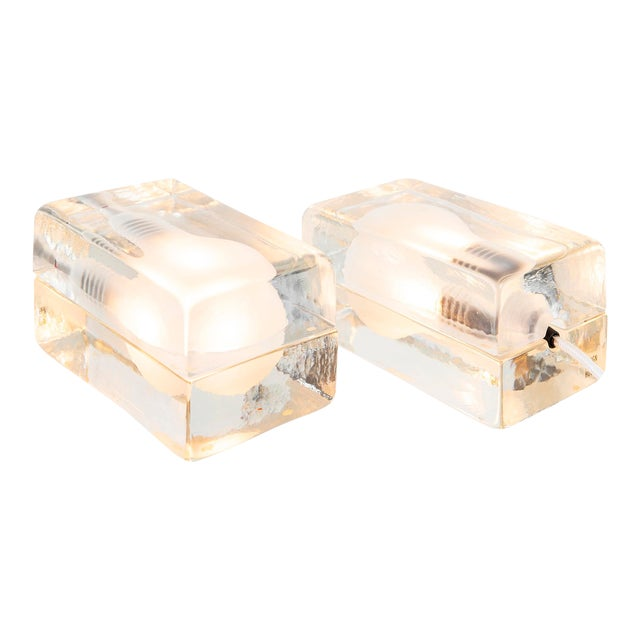 Set of Harri Koskinen Block Lamps For Sale