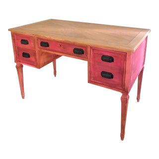 Vintage Shabby Chic Kindel Vanity/Writing Desk For Sale
