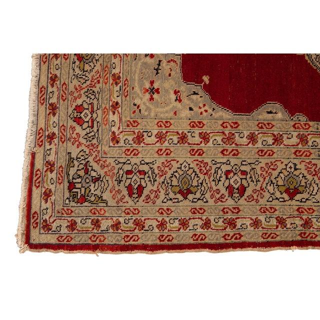 Textile Antique Persian Kerman Rug 3'6'' X 5'2'' For Sale - Image 7 of 13