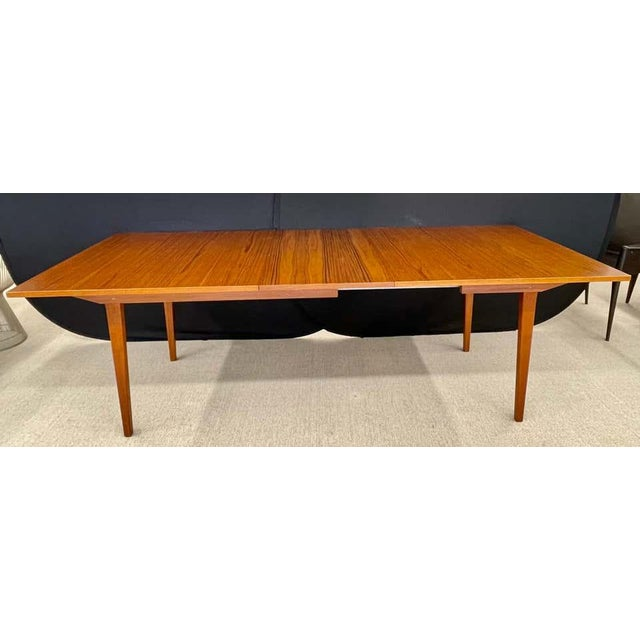 Mid 20th Century George Nelson Herman Miller Dining Table, Mid-Century Modern Teak Wood For Sale - Image 5 of 13
