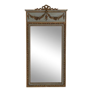 Napoleon III Painted Mirror, France Circa 1860 For Sale