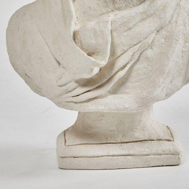 Dog Sculpture in Plaster For Sale - Image 4 of 5