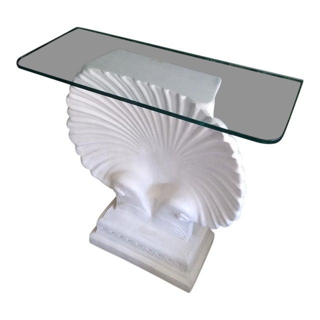 Monumental SeaShell Form Console Table Base Grosfeld House Style For Sale
