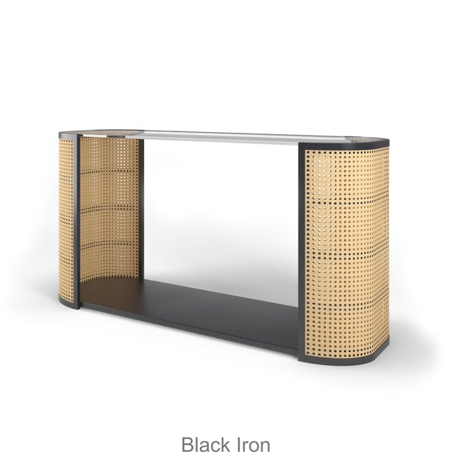 Lola Console Table - Black Iron For Sale In Los Angeles - Image 6 of 6
