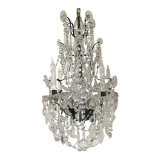 Vintage French Crystal Chandelier