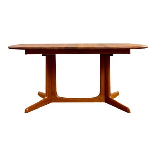1960s Mid Century Modern Niels O.Moller for Gudme Mobelfabrik Teak Extending Dining Table For Sale