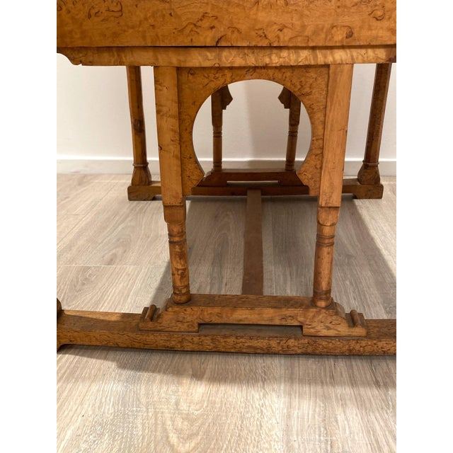 19th Century 19th Century Gothic Armchair For Sale - Image 5 of 9