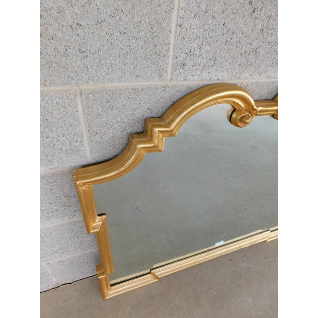 Made in Italy for La Barge, Wood with Gilt Gold Covered Gesso Frame Approx 10 years Good Condition - See photos - Normal...