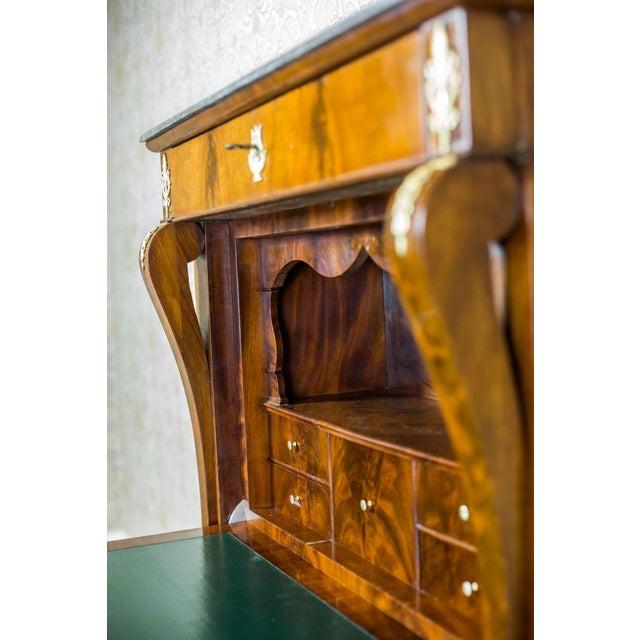 Empire Furniture 18th Century Empire Secretary Veneered with Mahogany For Sale - Image 4 of 13