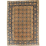 Image of 1900s Antique Khotan Small Rug- 6′1″ × 8′6″ For Sale