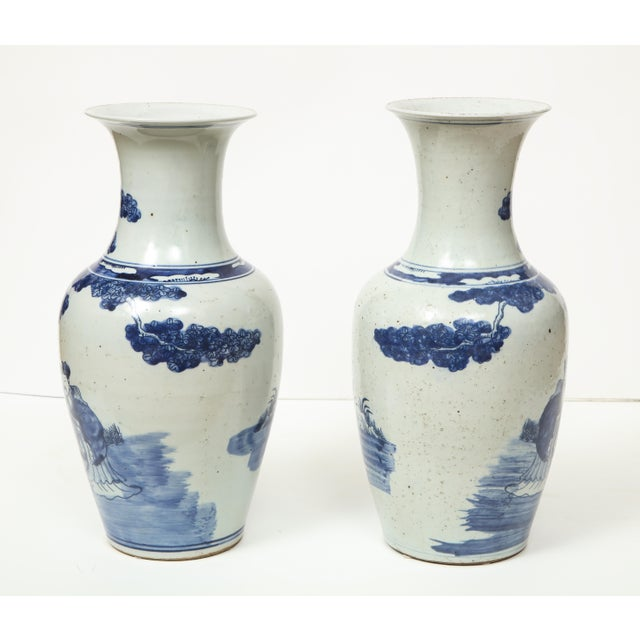 Chinese Export Vases - A Pair For Sale - Image 4 of 13