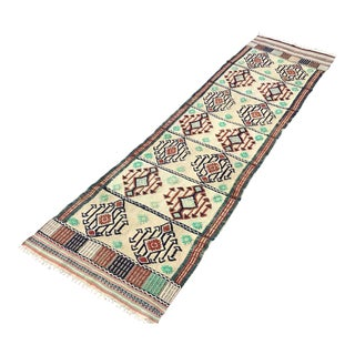 "Turkish Kilim Runner - 2'7"" X 9'7"" For Sale"