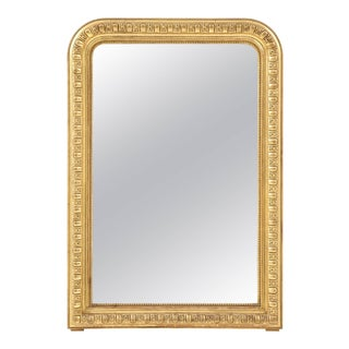 Giltwood Louis Philippe Mirror For Sale