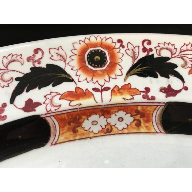 Final Markdown 19th C. Ashworth Soup Tureen & Underplate For Sale In Philadelphia - Image 6 of 10