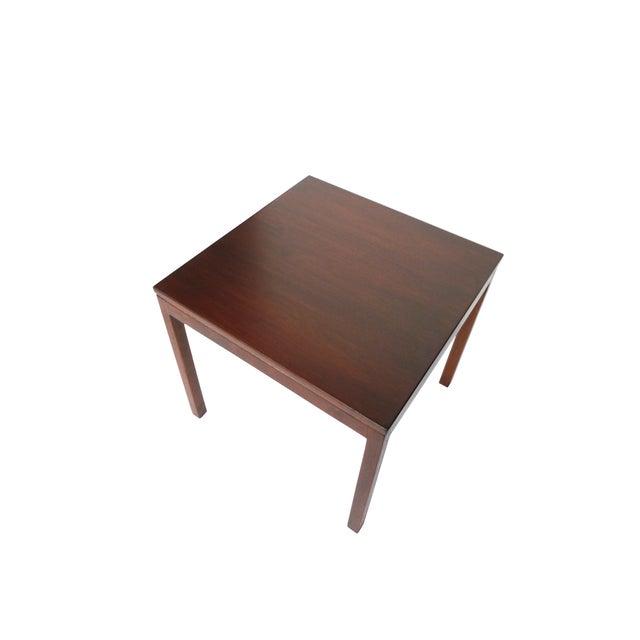 Jens Risom Danish Modern Walnut Side Table - Image 2 of 7