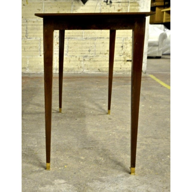 Art Deco Pure Rosewood Console Table For Sale - Image 3 of 5