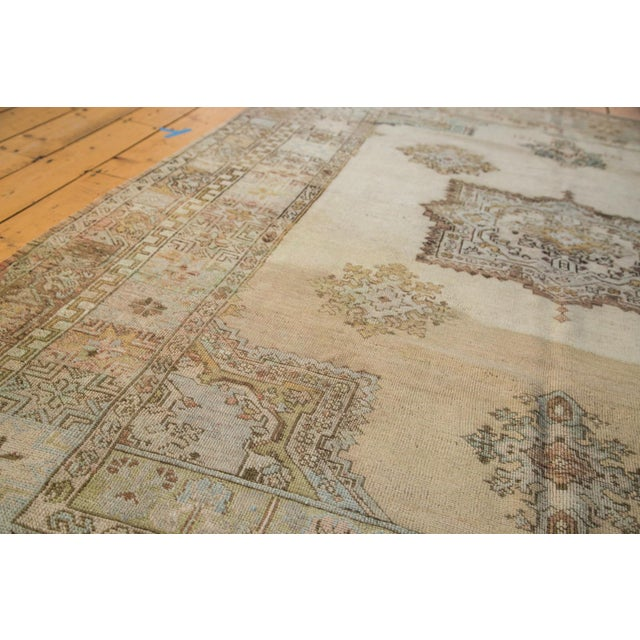 "Islamic Vintage Oushak Carpet - 6'11"" x 9'11"" For Sale - Image 3 of 6"