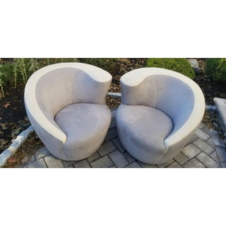 Vladimir Kagan Nautilus Swivel by Wieman / Pair Preview