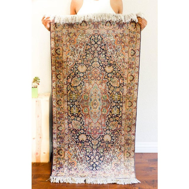 Vintage Faded Area Rug - 2′2″ × 5′1″ - Image 3 of 6