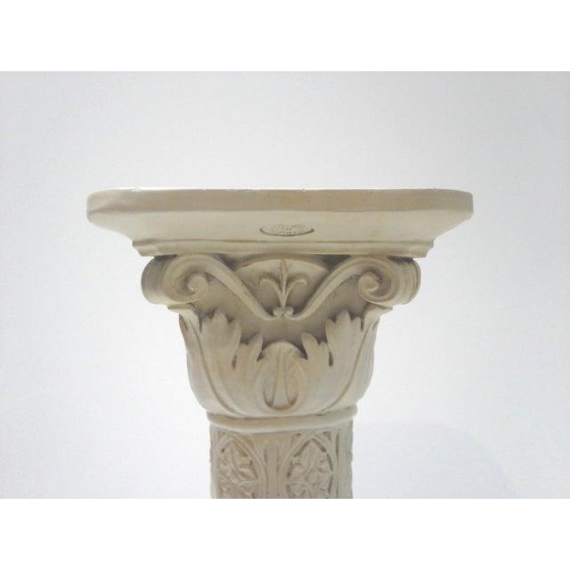 Vintage Acanthus Leaf Pedestal Plant Stand - Image 4 of 6
