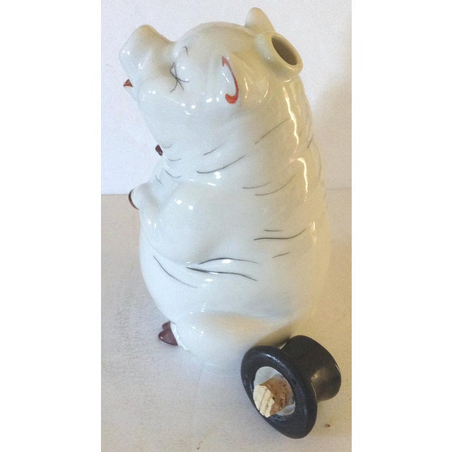 Pig Decanter For Sale - Image 4 of 6