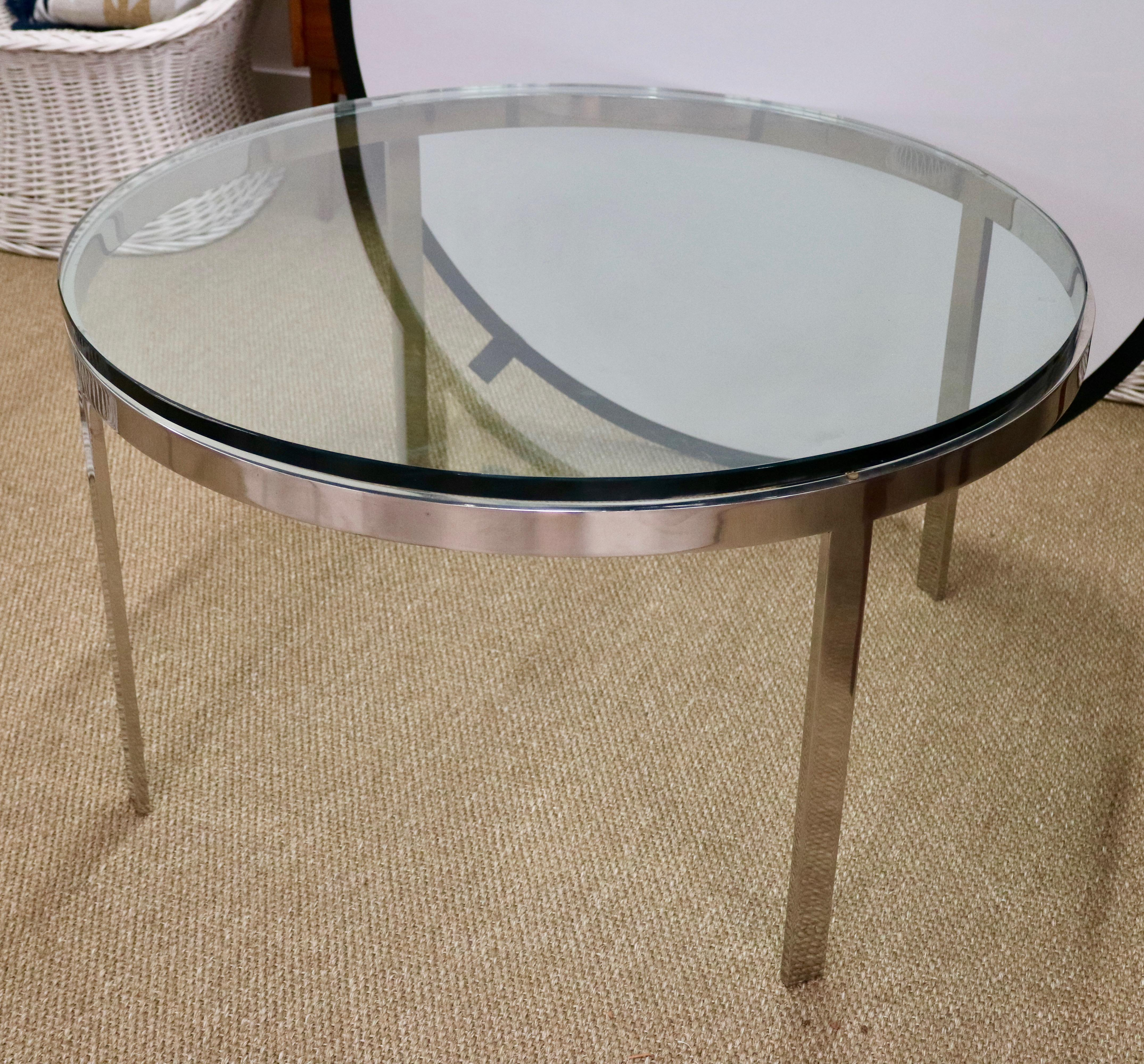 Exceptionnel Mid 20th Century Vintage Milo Baughman Coffee Table For Sale   Image 5 Of 5