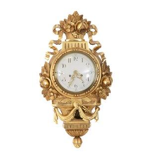 Antique Gustavian Wall Clock