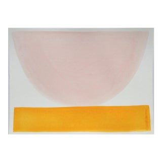 """2010s Abstract Original Painting, """"The Special Soap Bowl"""" by Jenny Andrews Anderson"""