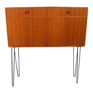 Vintage Mid Century Swedish Desk For Sale