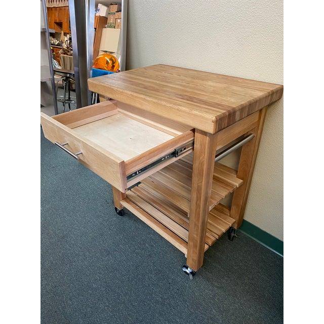 Catskill Craftsman Kitchen Island Work Center For Sale - Image 4 of 11
