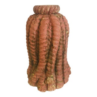Antique Wooden Tassel For Sale