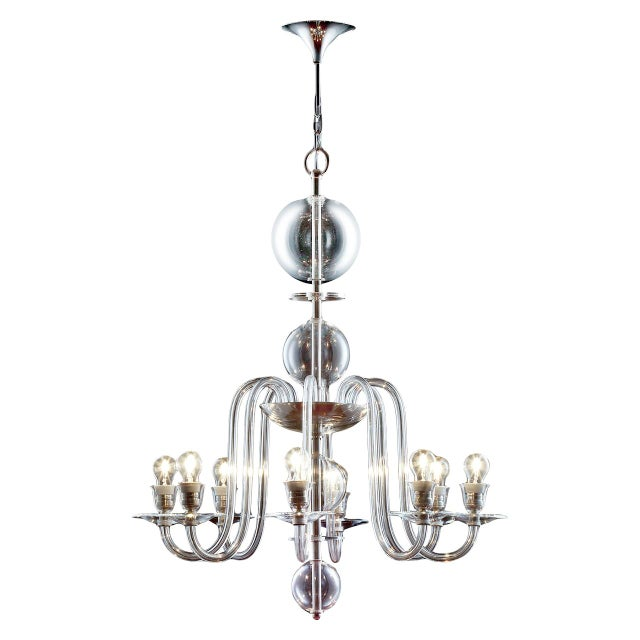 """Baroque """"Marianne"""" Chandelier by Stefan Rath For Sale - Image 3 of 3"""