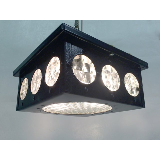 1960s Flush Mount Fixtures - A Pair - Image 2 of 5