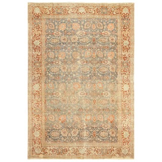 Roomsize Antique Tabriz Persian Rug For Sale