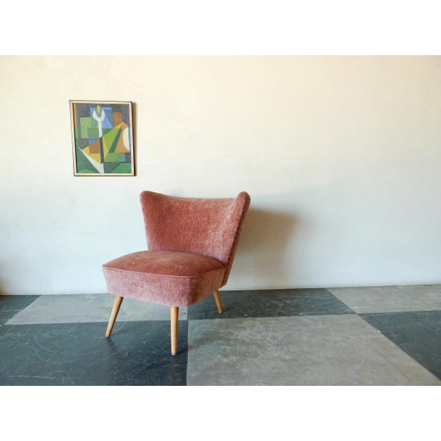 1950s 1950s Danish Cocktail Chair For Sale - Image 5 of 6