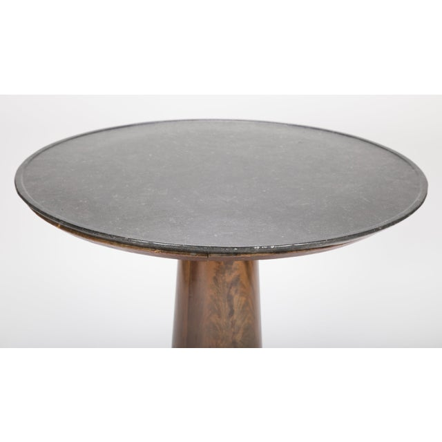19th Century English Marble Top Center Table For Sale - Image 9 of 13
