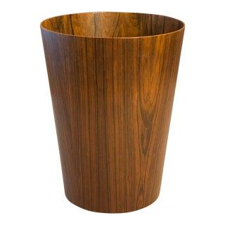 Rosewood Basket - Designed by Martin Åberg for Servex - Scandinavian Modern 1960s Vintage For Sale