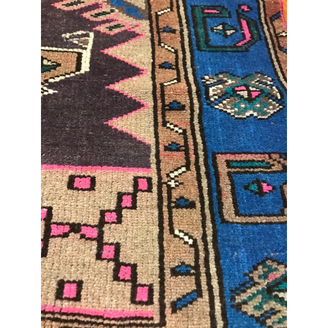 Islamic Vintage Turkish Caucasian Rug-3'8'x6'2' For Sale - Image 3 of 6