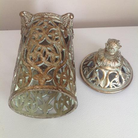 Moroccan Ceramic Candle Holder - Image 5 of 5