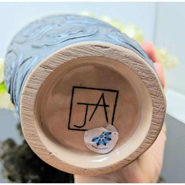 Jonathan Adler Windowpane Brutalist Vase For Sale - Image 12 of 12